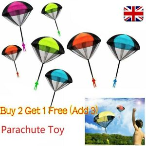 Hand Throwing Kids Mini Play Parachute Toy Soldier Outdoor Sports Children Toys!