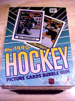 1990-91Topps Hockey Wax Box ~ RCs 0F MODANO, MOGILNY, ROENICK AND MANY MORE!