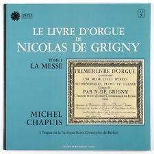 MICHEL CHAPUIS - Le livre d'orgue.. Tome I - LP Astree