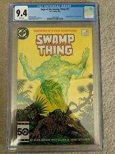 Swamp Thing 37 CGC 9.4 First Full Appearance of John Constantine