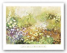 FLORAL ART PRINT Meadow Garden V by Aleah Koury