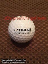 Logo Golf Ball-Gatineau Club De Golf.Canada