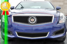 Fits 2013-2014 Cadillac Ats Logo Show Stainless Black Mesh Grille (Fits: Cadillac)