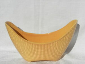 Vintage Stangl Winter Tan Bronze-Ware Flared Planter, #6001, Pattern #5329