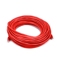 75FT Red High Quality Cat6 550MHz UTP RJ45 Ethernet Bare Copper Network Cable