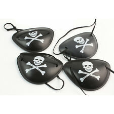 2X Pirate Eye Patch Skull Crossbone Halloween Party Favor Costume Kids Toy NT