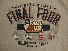 NCAA Indianapolis Greyhounds Final Four Women's Basketball 2011 Gray T Shirt XL