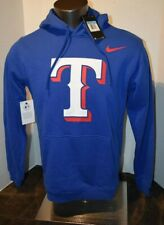 Nike Men's Texas Rangers Fleece Pullover Hoodie Sweatshirt M-3XL