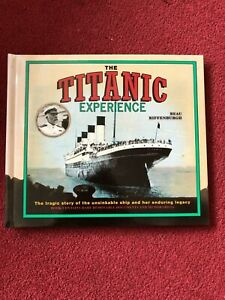 Brand New: The Titanic Experience Book including copies of Real Documents inside