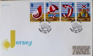 """Jersey Stamps """"Jersey Tourism"""" First Day Cover 1975"""