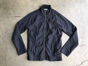 Standard James Perse Zip Up Microfleece Jacket sz 1 Black