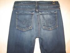 Citizens of Humanity Jeans Ava Low Rise Straight Leg Distressed Sz 27