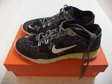 Nike Womens TR Fit 4 5 Cross Training Shoe Size 6.5-10 Color  Black White & Volt
