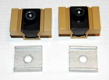 2 Pcs Mitee Bite Model No 500 Machinable Uniforce Clamps Withlocking Plate