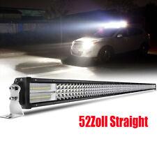 780W LED Arbeitsscheinwerfer Gerade Light Bar 52Zoll Autoscheinwerfer Combo