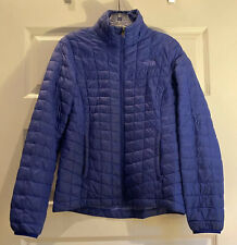 The North Face Thermoball Quilted Down Jacket / Coat Women's Size Small Blue