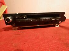 BMW 528i Radio Single CD Player Am Fm OEM Stereo Head Unit 2008 - 2010 E60