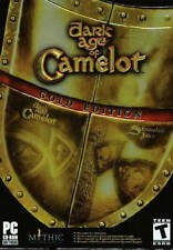 DARK AGE OF CAMELOT + SHROUDED ISLES GOLD EDITION PC Game Strategy NEW in Box