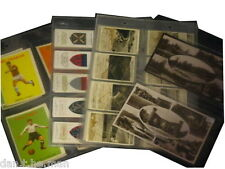 10 GLEN SLEEVES FOR CIGARETTE, POSTCARD, TEA TRADE CARD