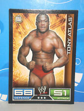CARTE CATCH TOPPS SLAM ATTAX TONY ATLAS DEFENCE 68 ATTACK 51
