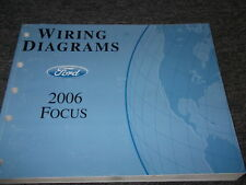 2006 Ford Focus Electrical Wiring Diagrams Service Shop Manual EWD OEM 2006 BOOK