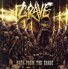 GRAVE - Back From The Grave 2xCD Bonus Track With Demos