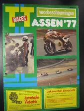 Officieel Programma TT Races Assen 1977