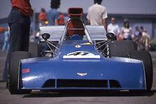 1974 James Dunkel #41 Chevron B24 - Ontario Motor Speedway - Vtg 35mm Slide