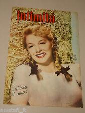 INTIMITA rivista 17 MAGGIO 1951 n. 273 = BETTY HUTTON cover magazine =