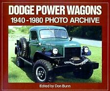 Dodge Power Wagons 1940-1980 Construction 4Wd 3/4 Ton Wwii Fire Truck Military