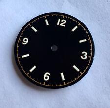 Vintage Bond 12 Milsub Watch Gilt Dial Seiko 7S26 NH35 Movement White Lume