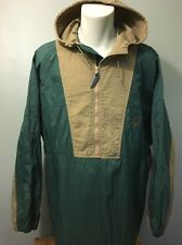 Vtg 1990s 90s Nike Air Hooded Windbreaker Mens L Nylon Track Parka Jacket Green