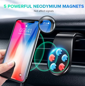 GTWIN Magnetic Car Phone Holder GPS Mount Holder Air Vent Clip 360 Phone Stand