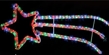 SHOOTING STAR CHRISTMAS DISPLAY BRIGHT FLASHING ROPE LIGHTS  INDOOR OR OUTDOOR