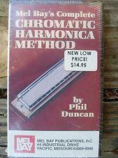 Vhs video, Mel Bay Complete Chromatic Harmonica Method new 50 minute video