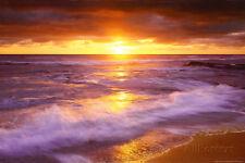 Sunset Cliffs Beach, San Diego, California Collections Poster Print, 36x24