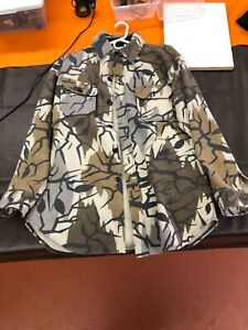 Men's Wool camouflage hunting shirt