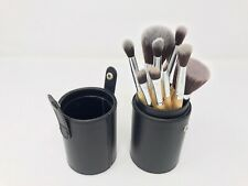 Makeup Addiction Bamboo Brushes Bundle x10 With Leather Travel Case USED