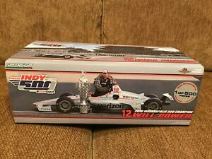 Will Power Greenlight 1:18 Indy 500 2018 with driver figure limited ed Penske