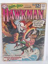 The BRAVE and the BOLD: HAWKMAN #43 - Joe Kubert - G/VG - Origin of Hawkman 1962