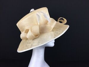 Ladies Natural Colored Straw Hat  (172)