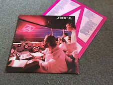 JETHRO TULL - A - 1980 LP WITH INNER SLEEVE EX- LOTS MORE TULL IN MY EBAY SHOP!!