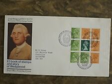 GB 1980 Wedgwood £3 book of stamps First Day Cover