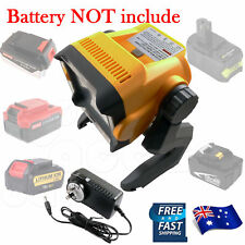 18V 20V MAX LED Work Light for DEWALT RYOBI MAKITA BLACK DECKER Battery