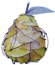 Leaf Pear Natural Country Rustic Hand Made Fruit Craft Floral Decor Filler 364x