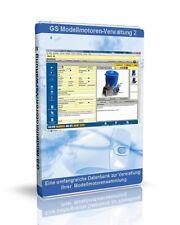 Modellmotoren-Verwaltung 2 - Software zur Verwaltung von Modellmotoren
