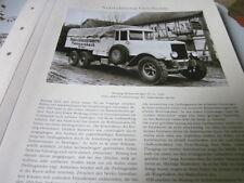 Nutzfahrzeug Archiv 1 Geschichte 1424 Büssing Sechsradwagen VI GL 1926