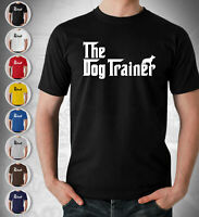 The Dog Trainer  Dog Trainer Gift T Shirt The Dogfather