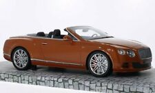 Bentley Continental Gt Speed Convertible 2013 Orange 1:18 Model MINICHAMPS