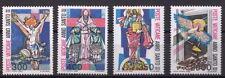 1983 Serie Anno Santo Straordinario 4 Valori Nuova MNH Vaticano Catalogo 721-4